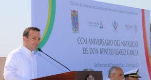 CCXI Aniversario Natalicio de DON BENITO JUÁREZ - 5