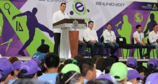 Inauguración Juegos Estatales del COBACAM - 13