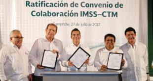 Ratificación Firma Convenio el IMSS con la CTM - 11