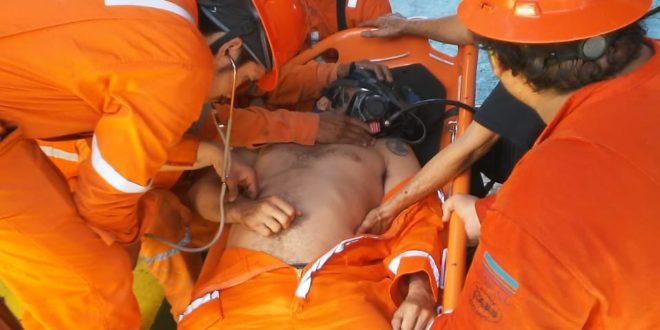 Dos obreros lesionados en la plataforma HYSY936 de COSL.