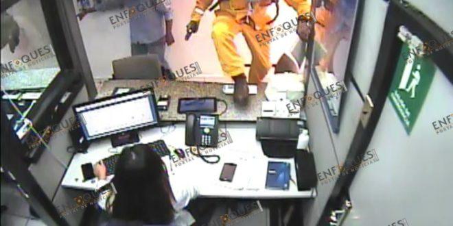 Violento asalto a sucursal bancaria